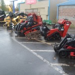 Large heavy duty equipment rentals