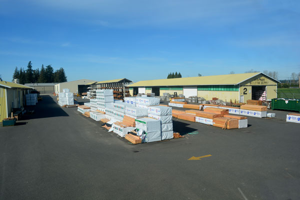 Westside Building Supply Lumber Yard